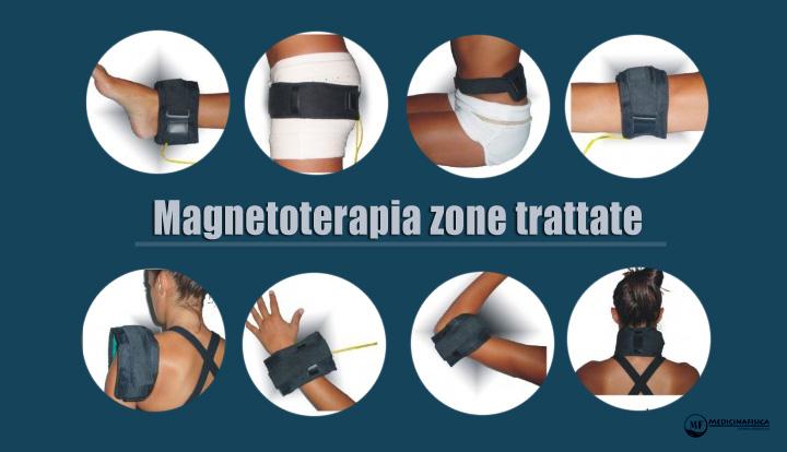 magnetoterapia zone trattate